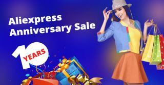 "Aliexpress ""10 years"" Anniversary Sale 2020 