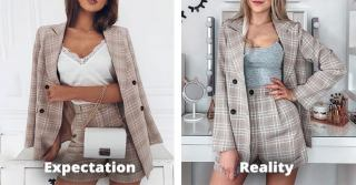 Expectation vs Reality | Aliexpress online shopping clothes from china