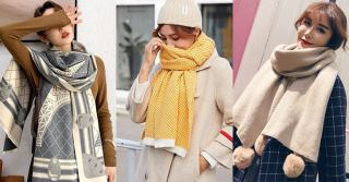 10+ stylish women's scarves at Aliexpress