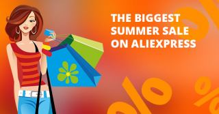 Brands shopping week 2020 – the biggest summer sale on Aliexpress